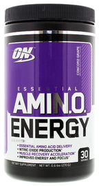 Optimum Nutrition Amino Energy Drink - Grape (270g)
