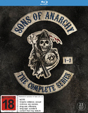 Sons of Anarchy - Complete Season 1-7 Box Set on Blu-ray