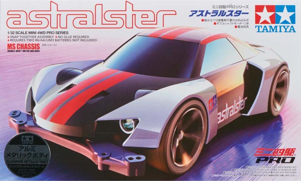 Tamiya: 1/32 Astralster Metallic - Mini 4WD image