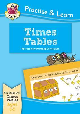 Practise & Learn: Times Tables (Ages 5-7) by CGP Books image