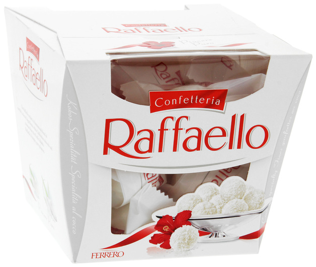nouveau produit af16a 879f3 Ferrero Raffaello Chocolates Box 15pk (150g) | at Mighty Ape NZ