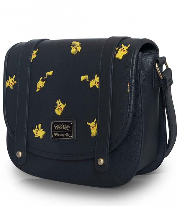 Loungefly Pokemon Pikachu Print Crossbody Bag