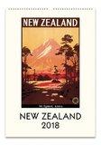 New Zealand 2018 Wall Calendar