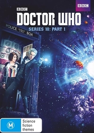 Doctor Who: Series Ten - Part One on DVD image