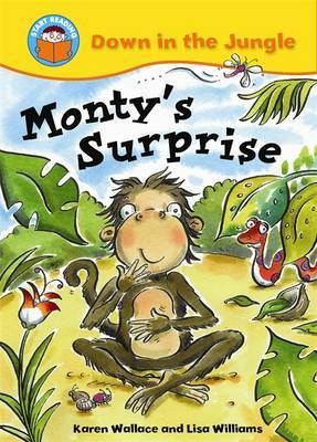 Monty's Surprise by Karen Wallace image