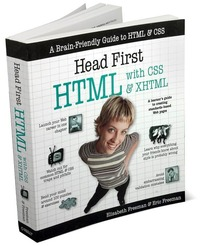 Head First HTML with CSS & XHTML by Eric Freeman image