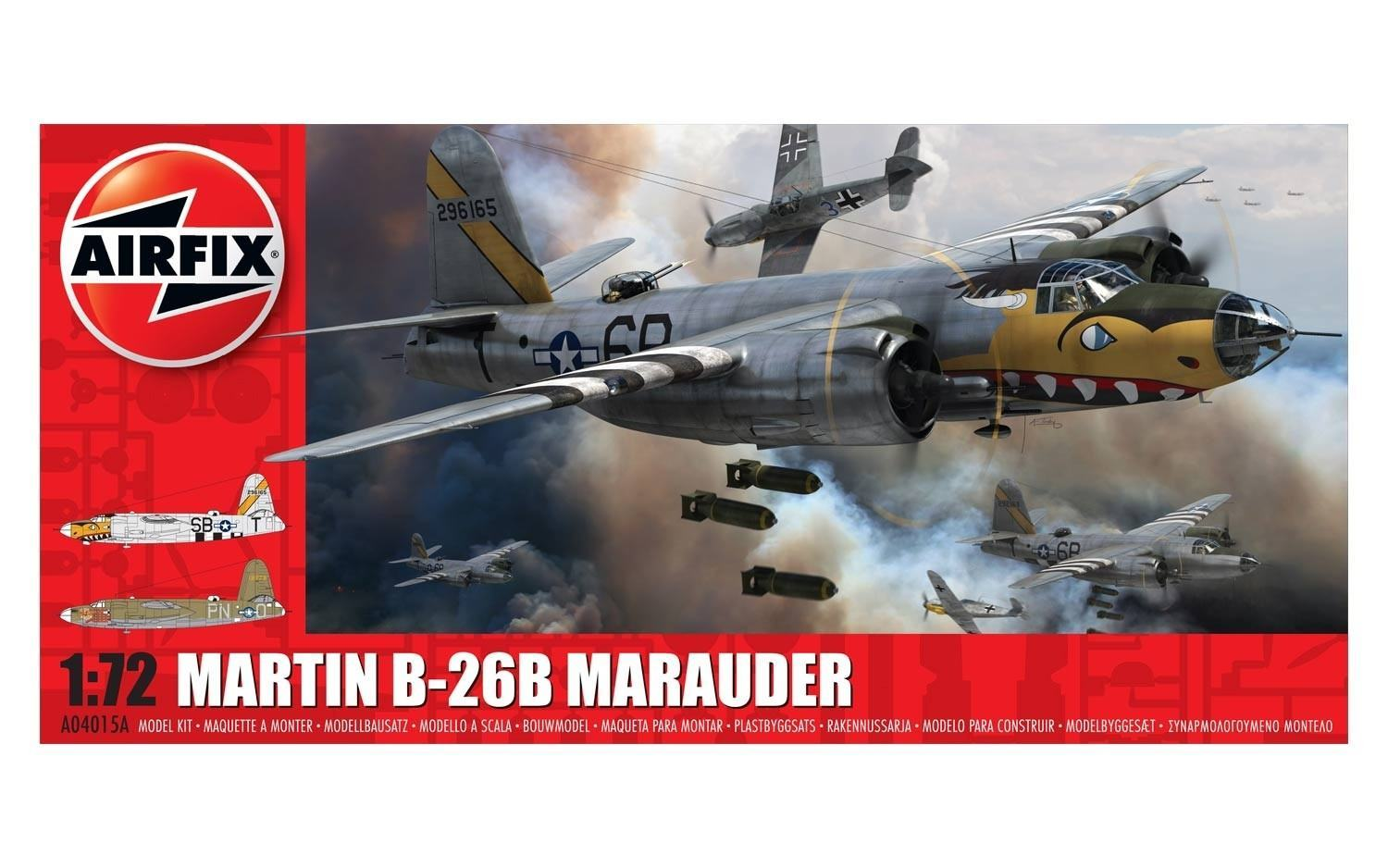 Airfix 1:72 Martin B-26B Marauder Scale Model Kit image