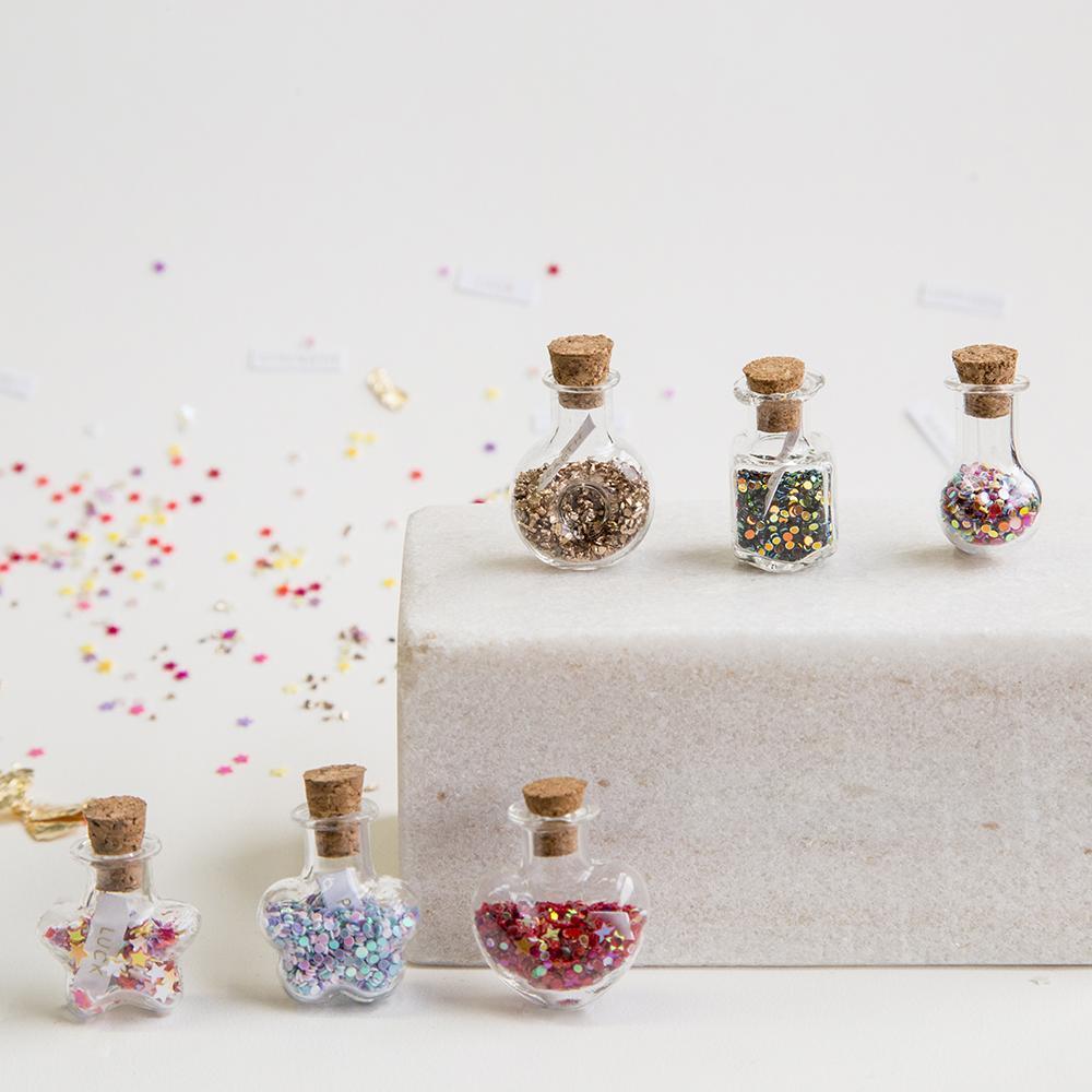 Short Story Trinket Bottle - Happiness image