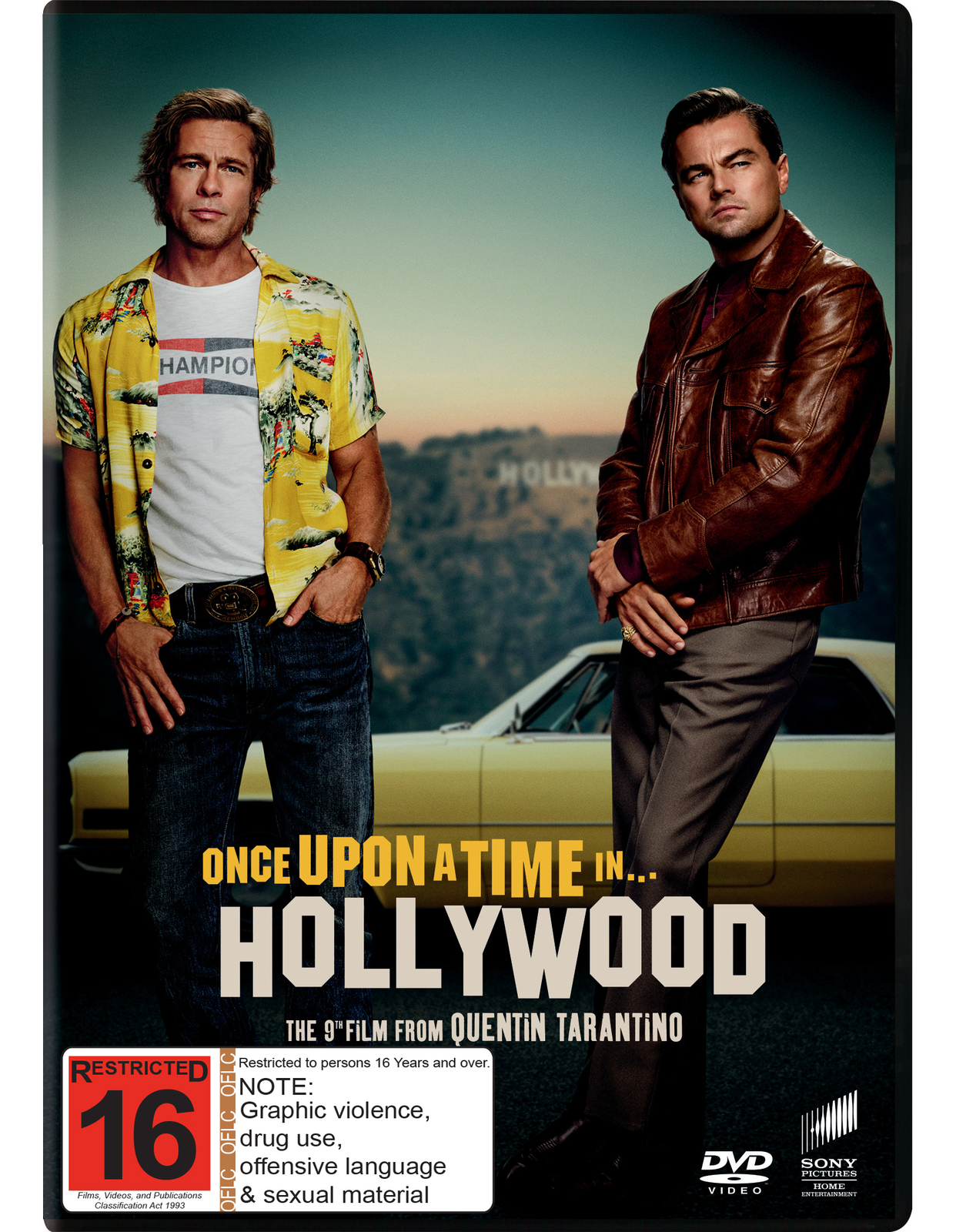 Once Upon a Time in Hollywood on DVD image
