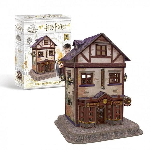 Cubic Fun: 3D Harry Potter Puzzle - Quidditch Supplies