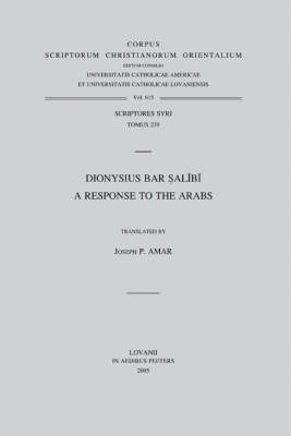 Dionysius Bar Salibi by J.P. Amar image