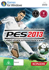 Pro Evolution Soccer 2013 for PC Games