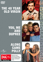 40 Year Old Virgin / You Me And Dupree / Along Came Polly - 3 DVD Collection (3 Disc Set) on DVD