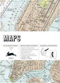 Pepin Press: Gift & Creative Papers - Maps by Pepin Van Roojen