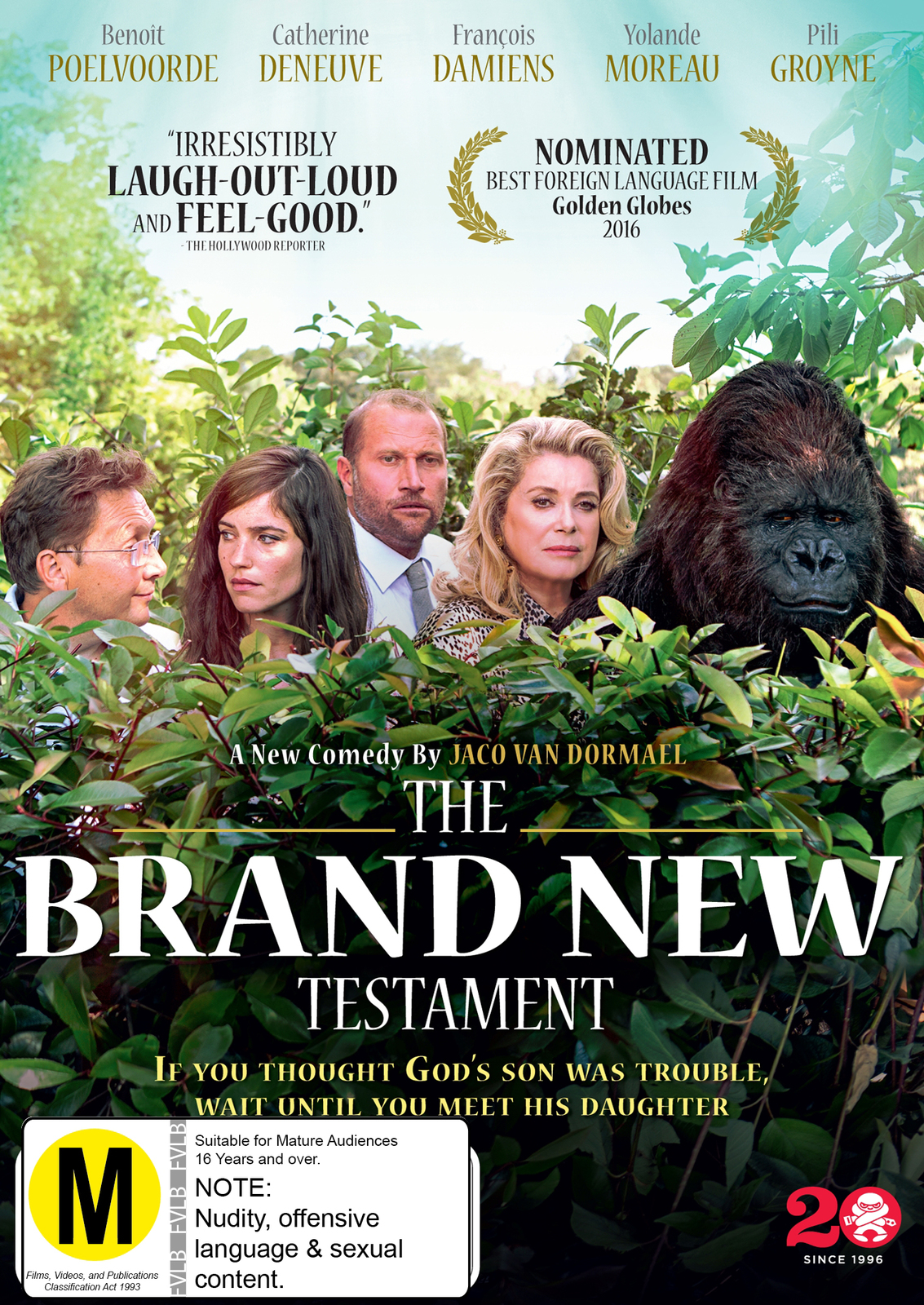 The Brand New Testament on DVD image
