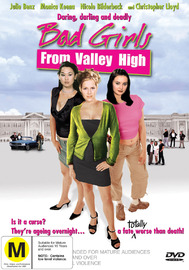 Bad Girls From Valley High on DVD image
