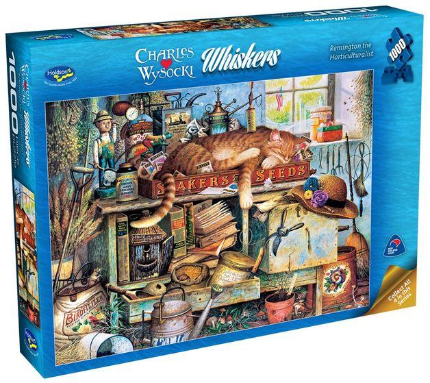 Wysocki: Remington the Horticulturalist - 1000 Piece Puzzle