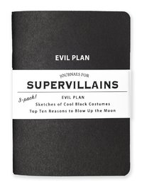 Whiskey River Co: 3 Piece Journal Set - Supervillians