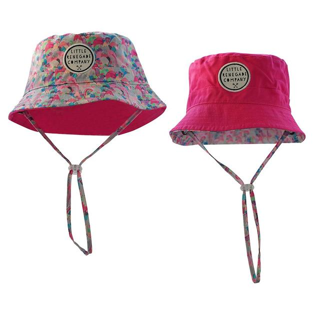 Little Renegade Company: Reversible Bucket Hat - Sugar Mountains (Maxi)