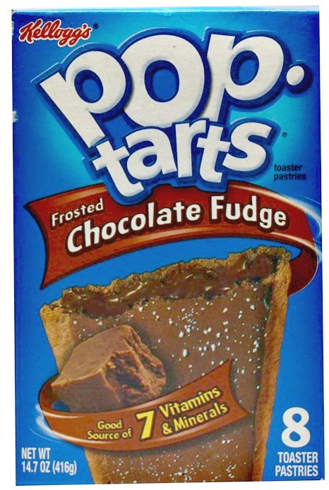 Kellogg's Pop Tarts Frosted Choc Fudge (8 Pack)