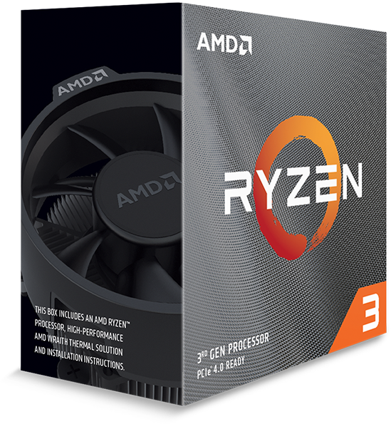 AMD Ryzen 3 3300X 4-Core 3.8GHz CPU