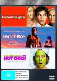 My Boss's Daughter /  Waterboy / Hot Chick (3 Disc Set) on DVD image