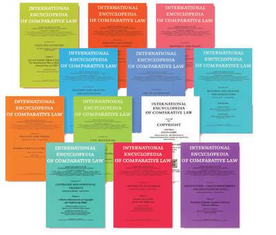 International Encyclopedia of Comparative Law, Instalment 36 image