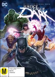 Justice League: Dark on DVD