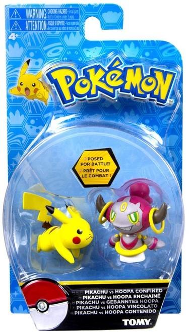 Pokémon: Action Pose Pikachu vs. Hoopa - Figure 2-Pack