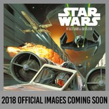 Star Wars Classic 2018 Square Wall Calendar