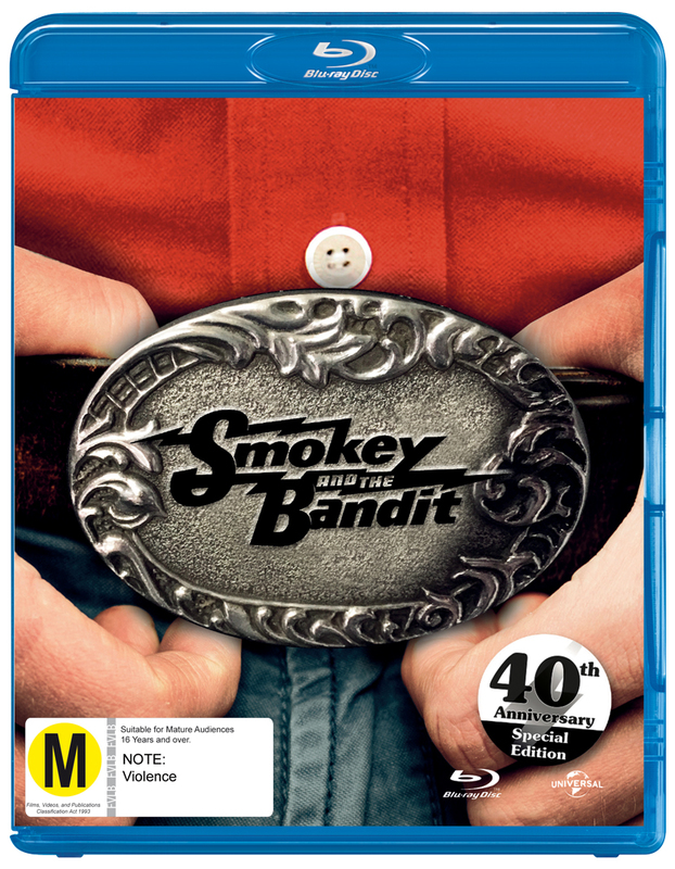Smokey & The Bandit - 40th Anniversary on Blu-ray