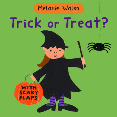 Trick Or Treat? Board Book by Melanie Walsh image
