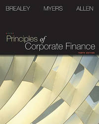 Principles of Corporate Finance + S&p Market Insight by Richard Brealey image