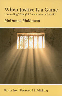When Justice Is a Game by MaDonna R. Maidment image