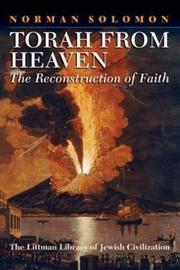 Torah from Heaven by Norman Solomon