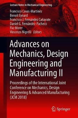 Advances on Mechanics, Design Engineering and Manufacturing II image