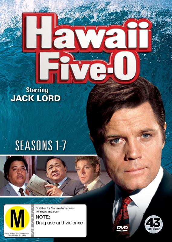 Hawaii Five-O: Seasons 1-7 on DVD