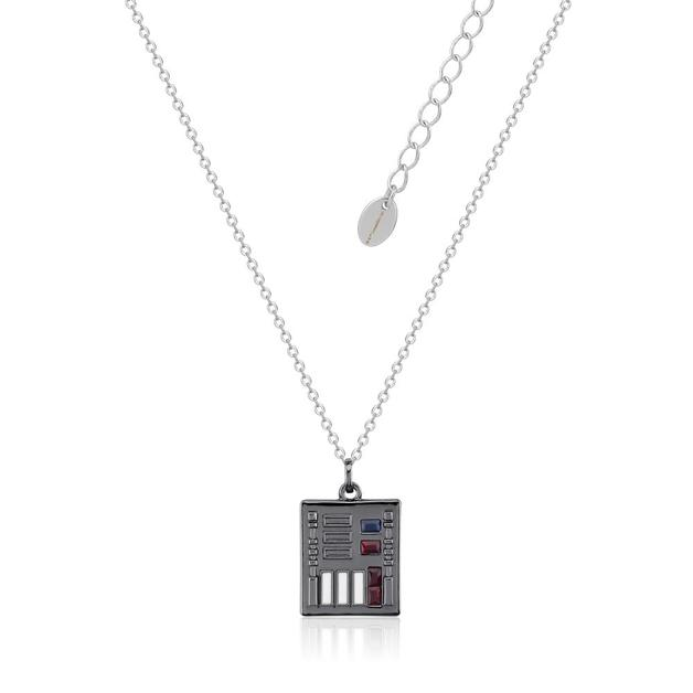 Couture Kingdom: Star Wars Darth Vader Control Necklace - Silver