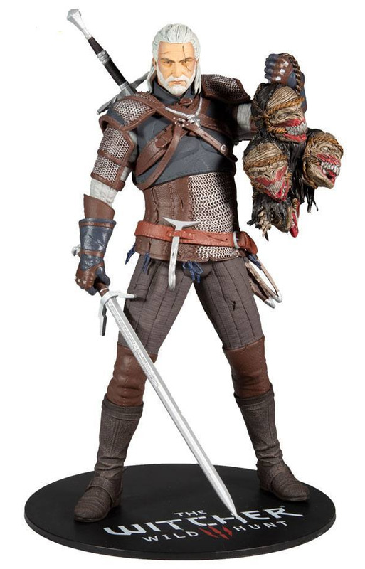 """The Witcher: Geralt - 12"""" Static Figure"""