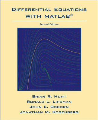 Differential Equations with MATLAB by Brian R. Hunt image