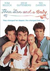 Three Men & A Baby on DVD
