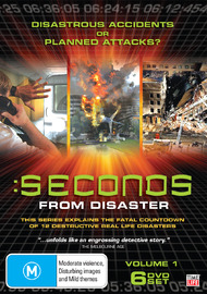 Seconds From Disaster - Volume 1 on DVD