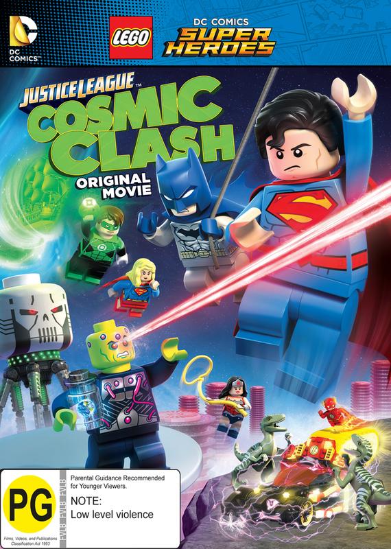 LEGO DC: Justice League - Cosmic Clash on DVD