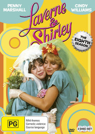 Laverne & Shirley - The Eighth Season on DVD
