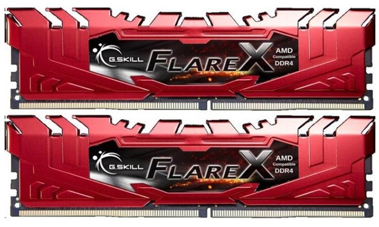 G.SKILL Flare X for AMD Ryzen 16GB (2 x 8GB) DDR4 2400MHz image