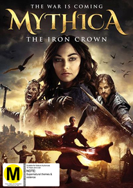 Mythica: The Iron Crown on DVD image