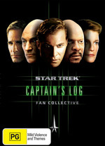 Star Trek - Fan Collective: Captain's Log (5 Disc Box Set) on DVD