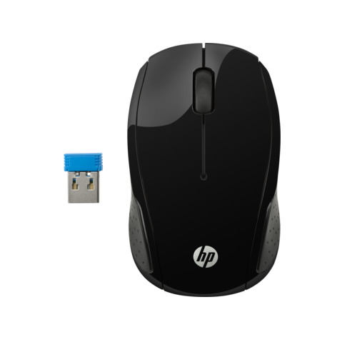 HP 200 - Wireless Mouse (Black) image
