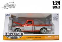 Jada: 1/24 Chevy Cheyenne - Pickup (1972) - Diecast Model (Red)