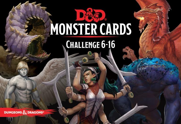 D&D Spellbook Cards Monster Deck 6-16 (74 cards) image